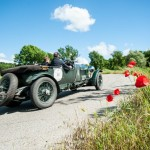 Blower Bentley Team Car Featured at 2013 Mille Miglia
