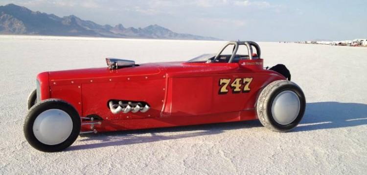 1932 Ford Roadster of Bruce Meyer at Bonneville Salt Flats
