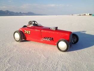 Wearing #747, the big block Chevrolet-powered 1932 Ford Roadster