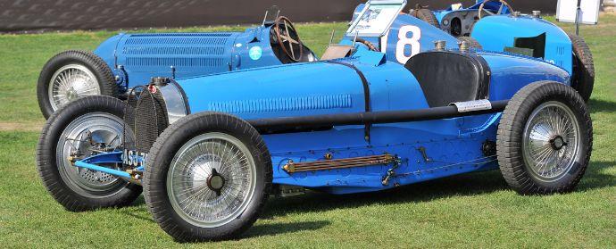 Bugatti Class at Salon Prive 2012