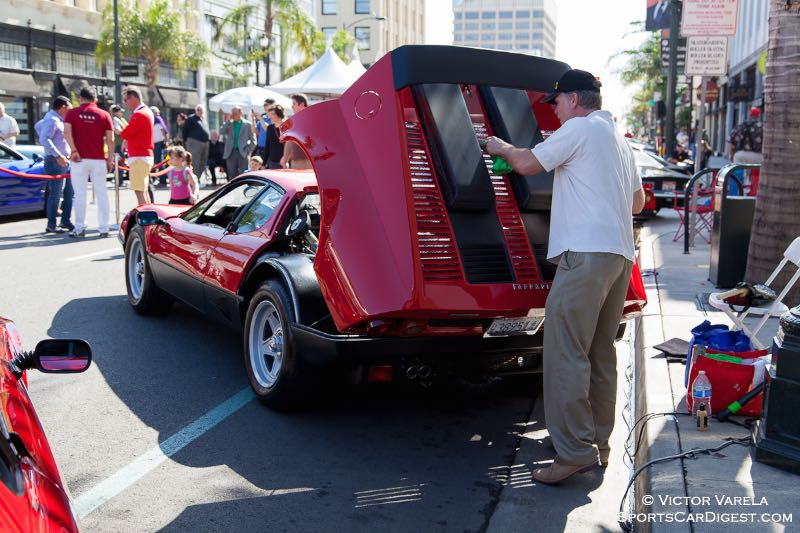 Owning and maintaning a Ferrari - labor of love.