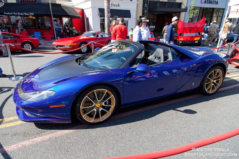 2015 Pininfarina Ferrari Sergio - named to honor the late Sergio Pininfarina.