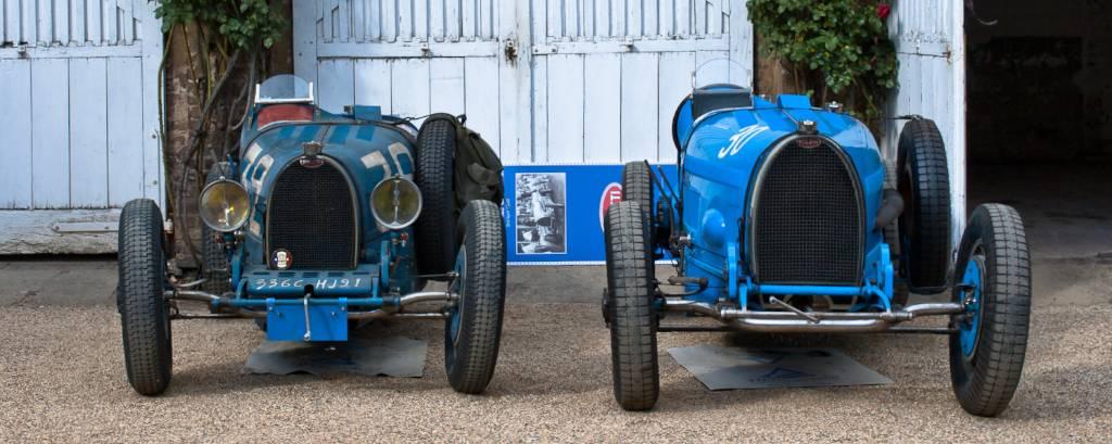 Bugattis were featured at 2013 Classic Days Schloss Dyck