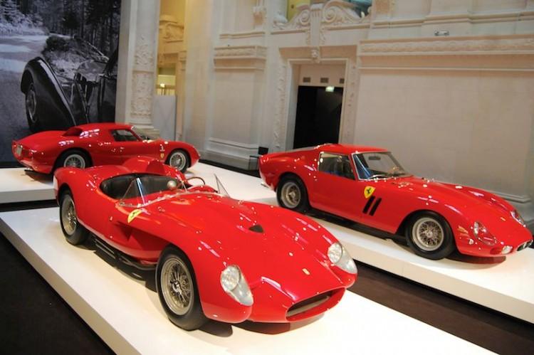 1958 Ferrari 250 Testa Rossa, 1962 Ferrari 250 GTO, 1964 Ferrari 250 LM