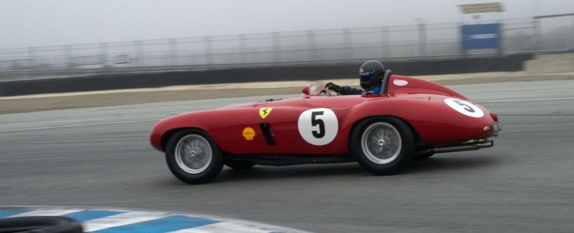 Scott Drnek's Ferrari 750 Monza.