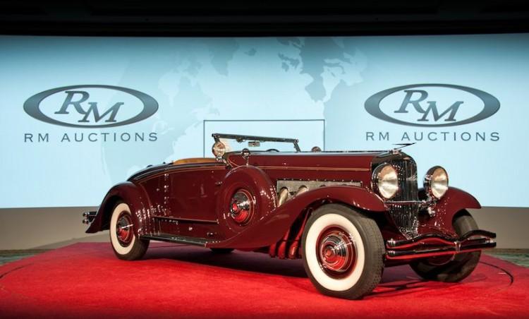 1935 Duesenberg Model SJ Walker-LaGrande Convertible Coupe