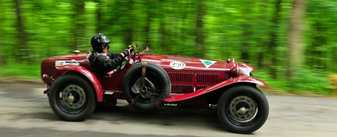 1932 Alfa Romeo Monza, Bruce Rudin.