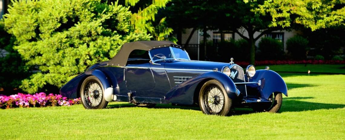 1934 Alfa Romeo 8C 2300 Boat Tail Speedster