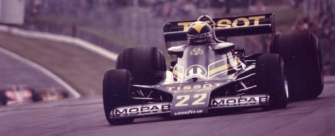 Derek Daly in Ensign F1