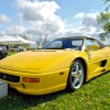 F355 Spyder amidst the crowd at the 2011 Castaway Critters Exotic Car Show