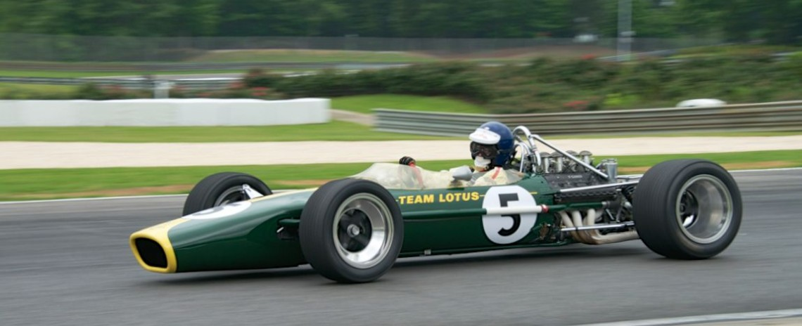Chris MacAllister's Lotus 49
