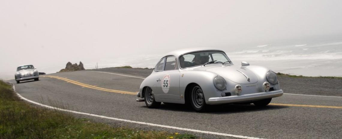 Steve and Dannielle Schmidt's 1957 Porsche 356 GT.