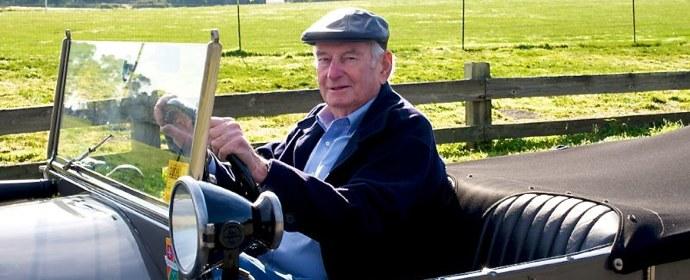Martin Swig in Lancia Lambda