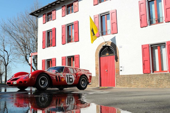 Ferrari 250 Gt Breadvan At Enzo Ferrari S House Sports Car Digest The Sports Racing And Vintage Car Journal