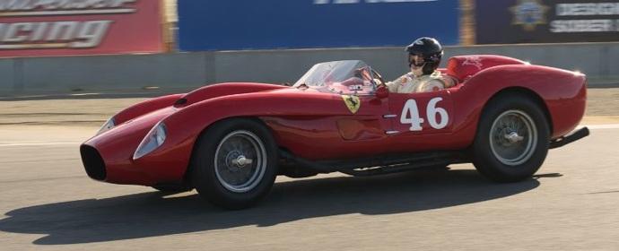Ferrari 250 Testa Rossa at Monterey Pre-Reunion 2011
