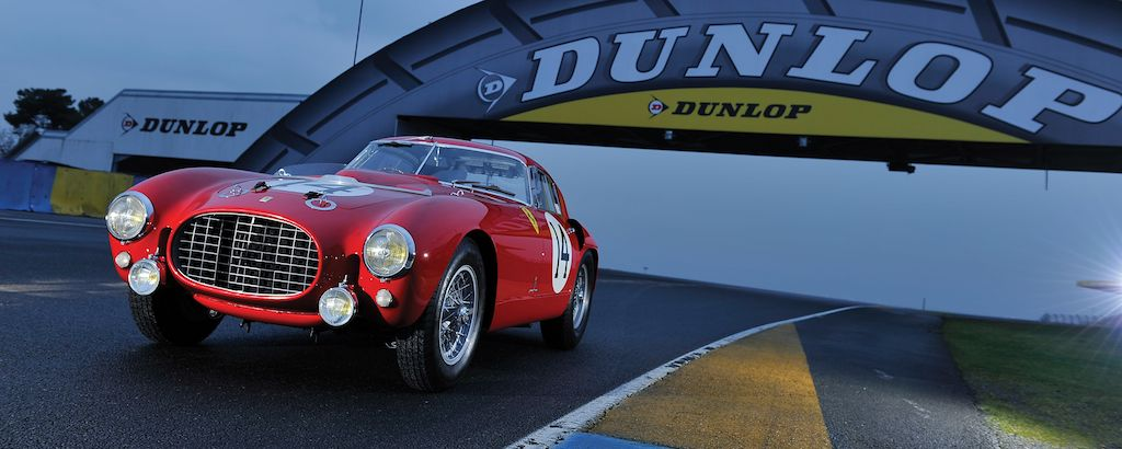 1953 Ferrari 340/375 MM Berlinetta at Le Mans