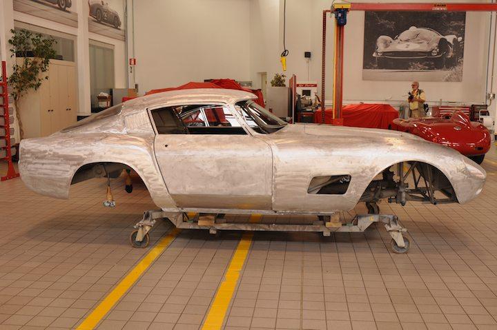 Ferrari Classiche Restoration Facility Photo Gallery