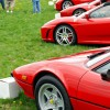 The Red Row at the 2011 Castaway Critters Exotic Car Show in Hershey PA