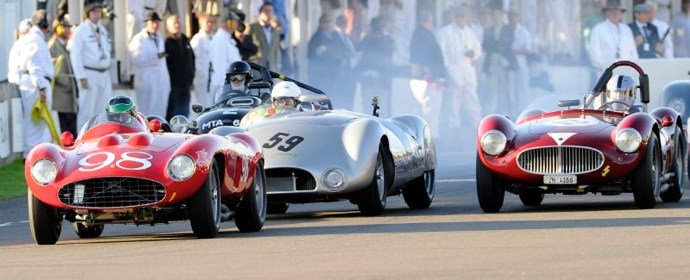 Start of the Freddie March Trophy at Goodwood Revival 2011