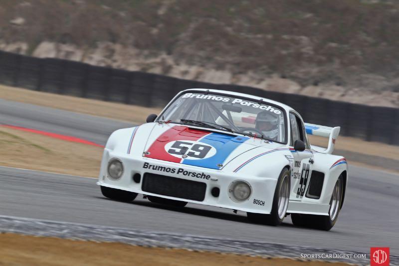 Group 4 Carrera Trophy - 59 1977 Brumos Porsche 935 driven by Bruce Leven -