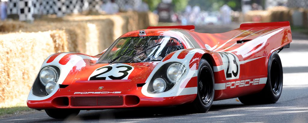 Team Salzburg Porsche 917K that won the 1970 24 Hours of Le Mans