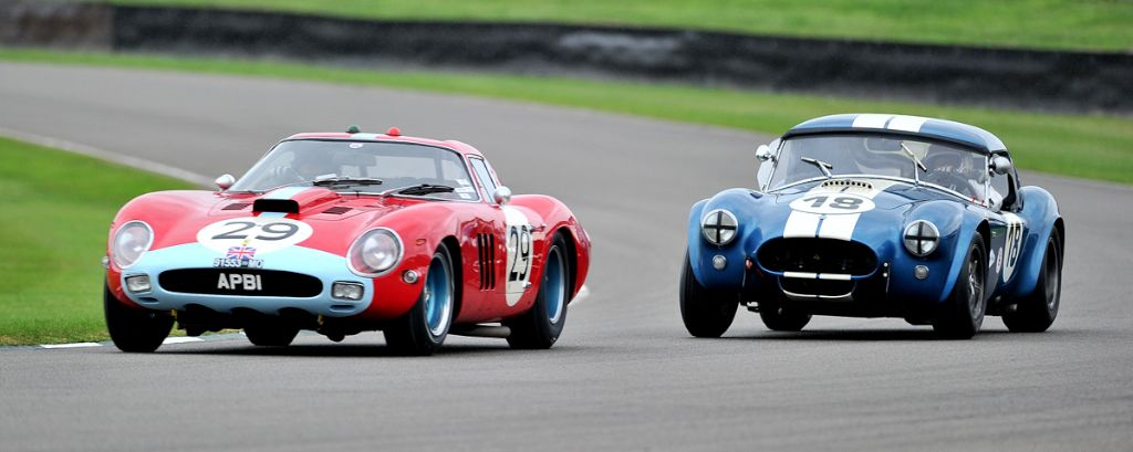 Ferrari 250 GTO/64 and AC Cobra 289