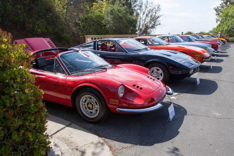 1971 Dino 246 GTS heads the Ferrari line up