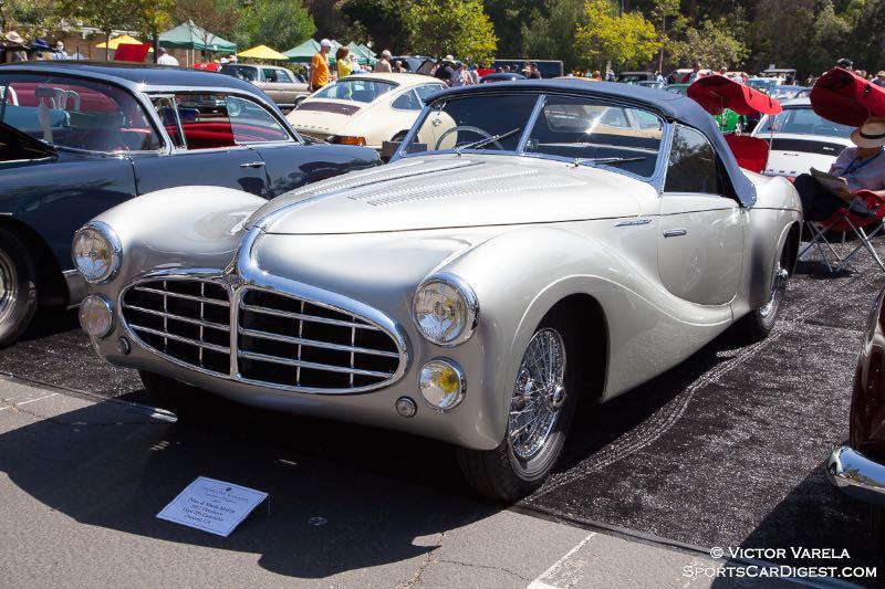 1951 Delahaye Type 235 Cabriolet - owners Peter & Merle Mullin