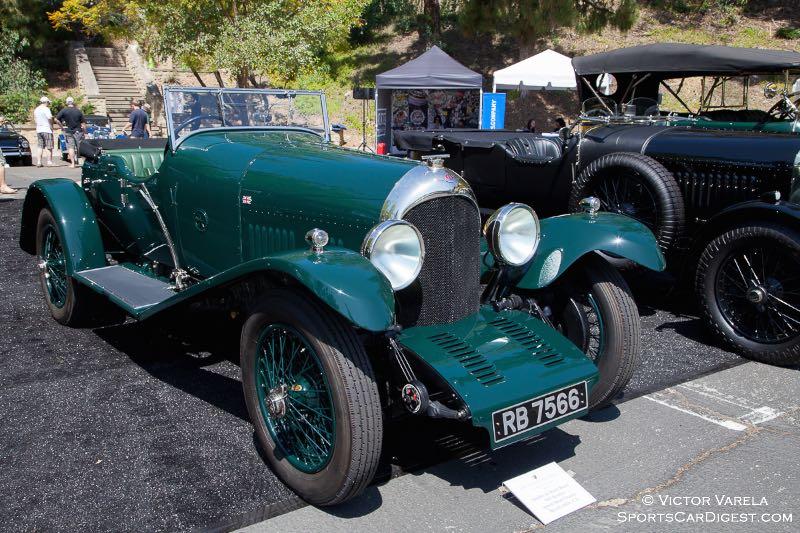 Stanley & Merle Bauer's 1925 Bentley Speed Short Chassis