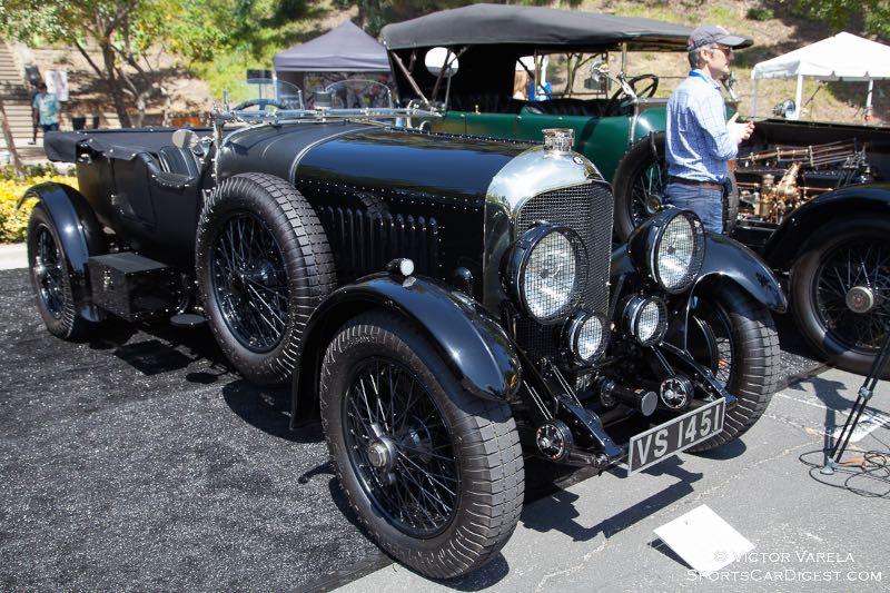Bruce Meyer's 1929 Bentley 4.5 liter Tourer By Vanden Plas