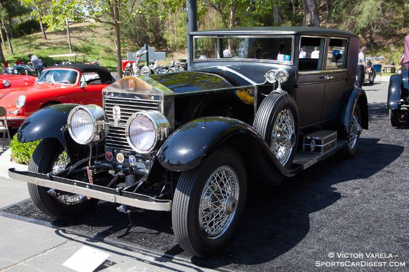 1923 Rolls Royce Silver Ghost - owner David S. Morrison, MD