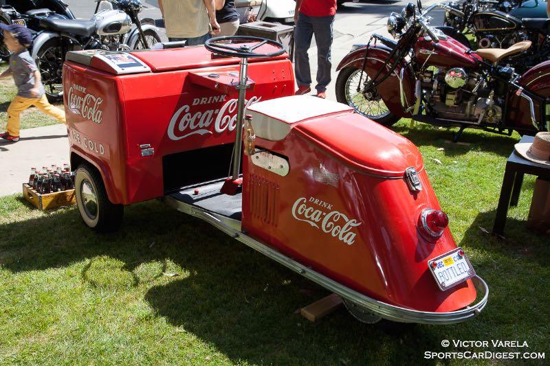 """1946 Crushman """"Cokster"""" - owner Howard G. Singer"""