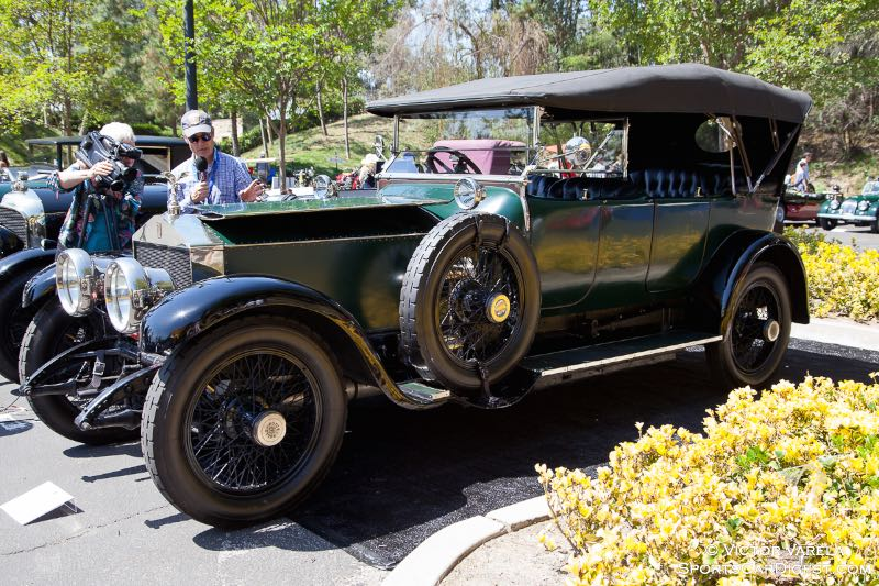 David Gooding reporting on the 1914 Rolls-Royce Silver Ghost.