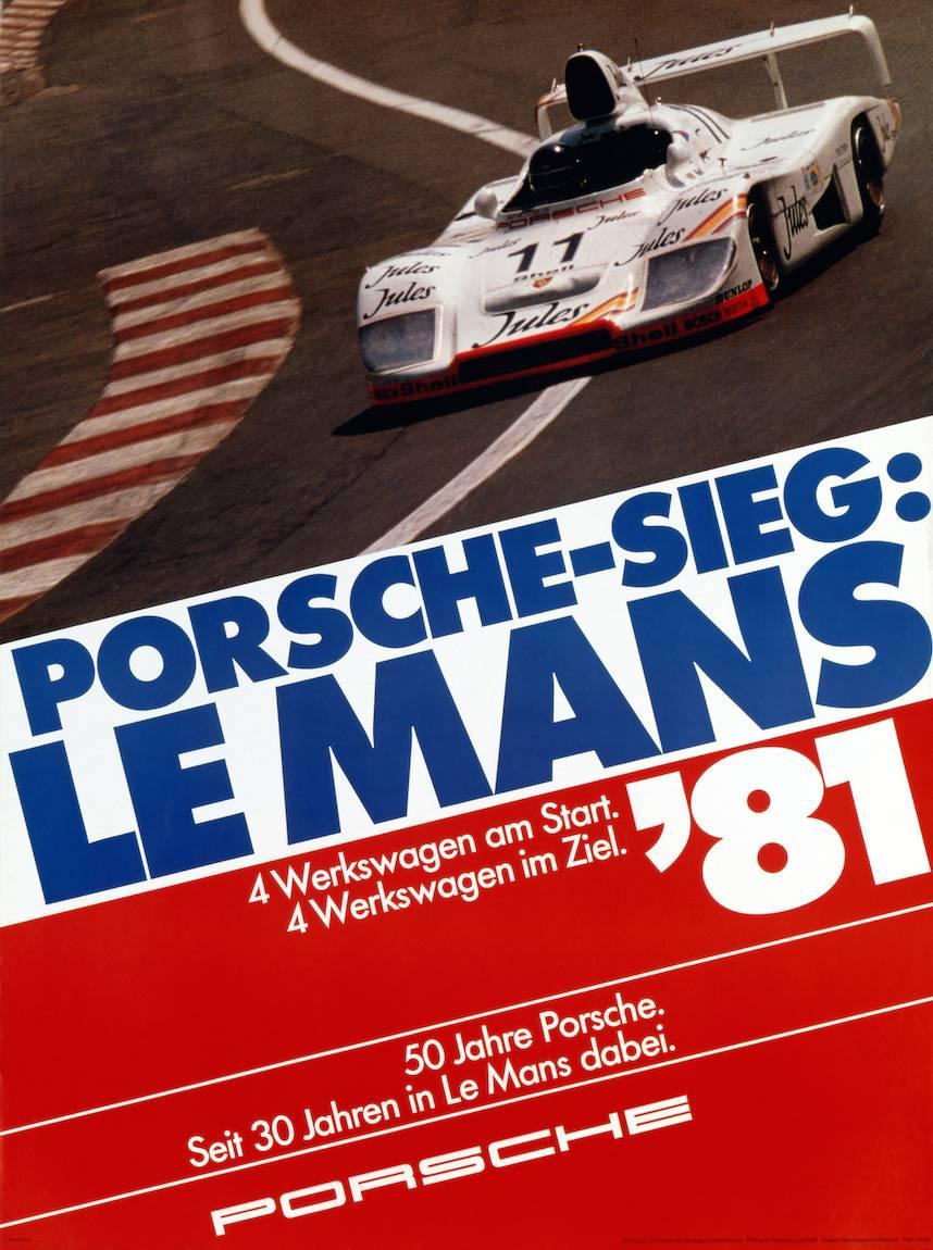 Porsche At Le Mans 1974 To 1981 History Photos Profile