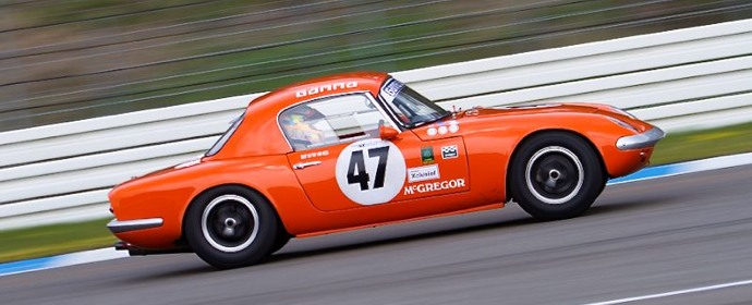 Lotus Elan vintage race car