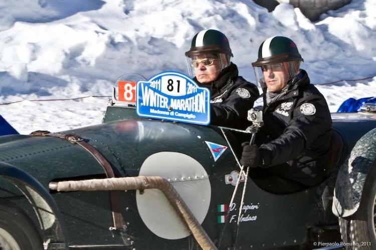 Riley Sprite TT of Franco Indaco and Dario Lupieri