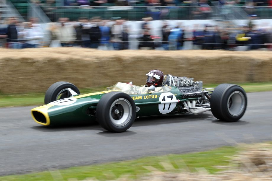 1967 Lotus-Cosworth 49 driven by Jackie Oliver - Sports Car Digest - The  Sports, Racing and Vintage Car Journal
