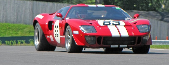 Ford GT40 at Lime Rock