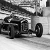 Louis Chiron negotiating Tabac corner at the 1934 Monaco Grand Prix