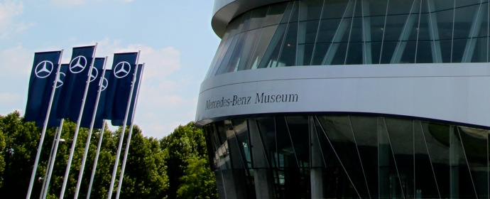 Mercedes-Benz Museum building