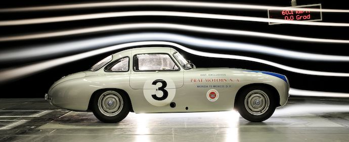 Auction Cars For Sale >> Historic Mercedes-Benz W194 Measured in Wind Tunnel