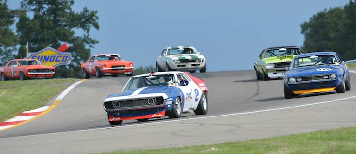 Historic Trans Am at Watkins Glen