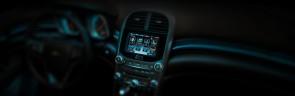 interior dashboard touch screen