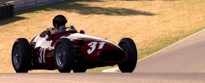 Maserati 250F at St Jovite race track