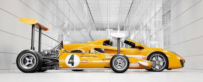 McLaren 50th Anniversary Celebration
