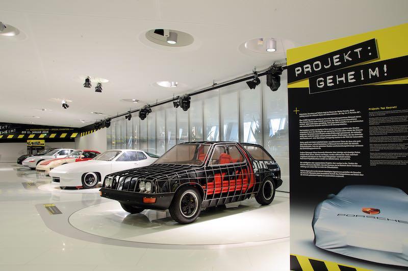 Project Car Exhibition At Porsche Museum - Exhibition car