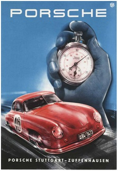 Auction Cars For Sale >> Porsche Showroom Posters: The First 25 Years - Book Review