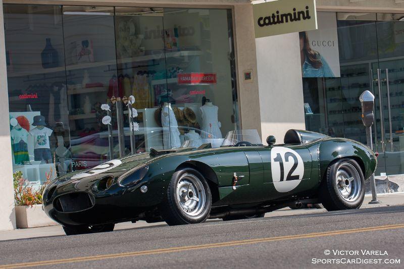 Jaguar E-Type Lightweight on Santa Monica Blvd