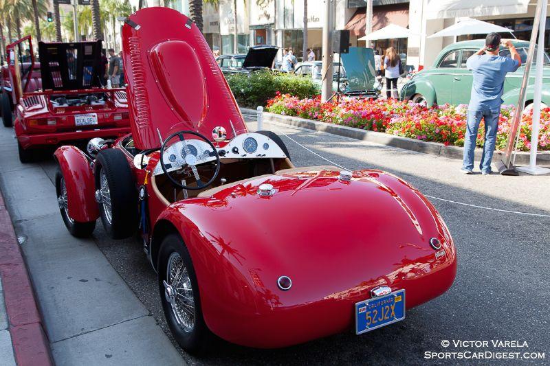 1952 Allard J2X owned by Craig & Hanne Ekberg