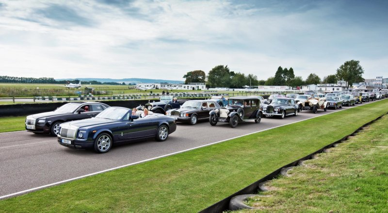 Rolls-Royce Spirit of Ecstasy Celebration at Goodwood